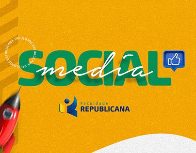 Social Media - Faculdade Republicana