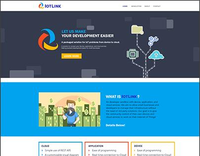 Website & Logo Design for IoTLink