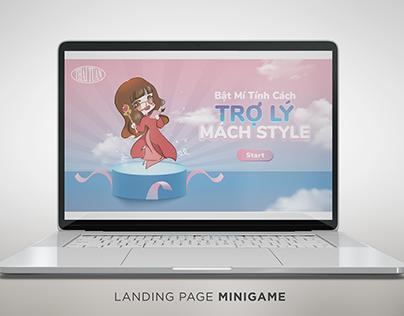 Landing Page Minigame   Brand