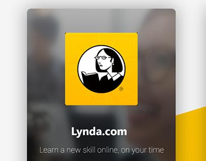 Daily UI - Login Lynda