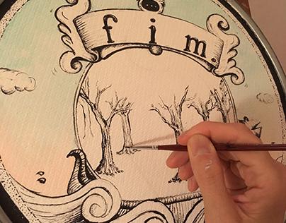 """""""Fim"""". Una pintura..."""