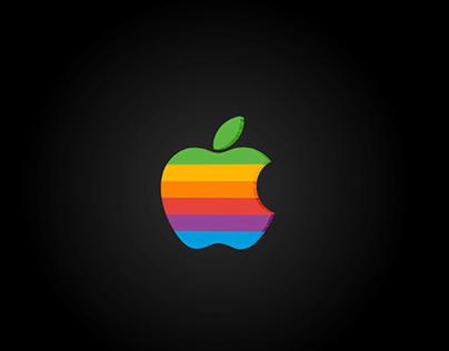 3D logo (apple)