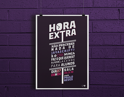 Hora Extra Poster
