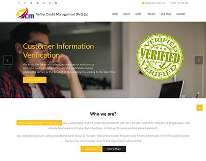 Veltrocredit Management Website developments