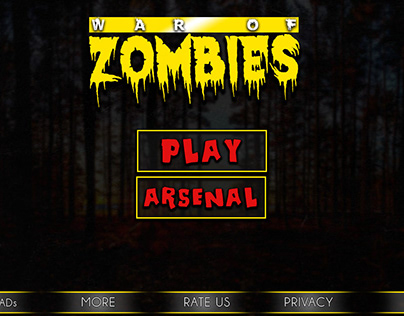 Full UI of War of Zombies