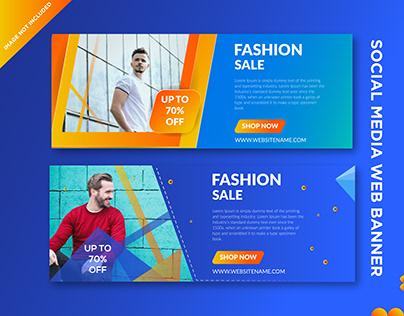 Web Banner Design -Social media banner