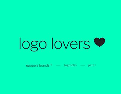 logo lovers ❤ logofolio I