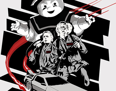 Back to the future-Ghostbusters Mashup