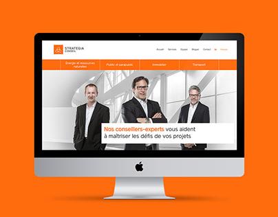 Stratégia Conseil - Site web
