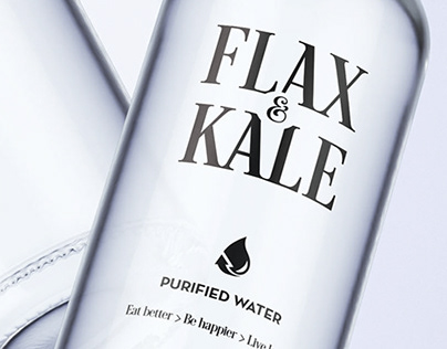 Flax & Kale - Purified water