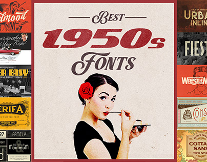 Best 1950s Fonts Collection