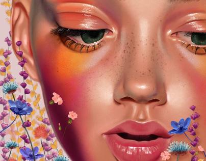 Eyes like wildflowers