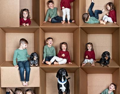 Sorenson Kids Box Collage