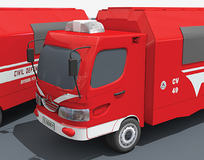SCDF - Revamp of the FCV (Forward Command Vehicle)