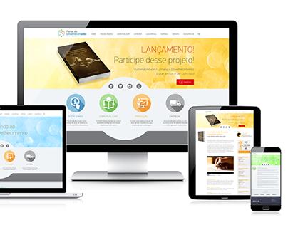 Criação de website: Portal Edições