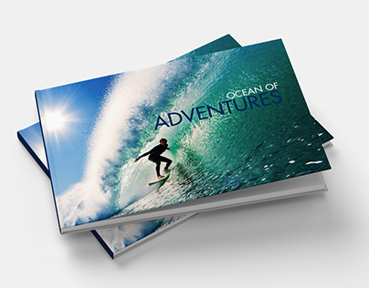 Coffee table book- Water adventures