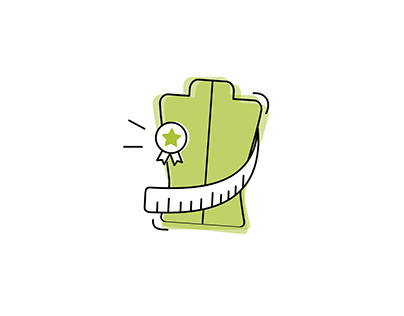 Icon for Sustainable Clothes Product | Graphic