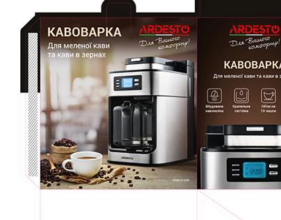 Coffee maker packaging design