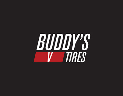 Buddy's V Tires - Logo Design