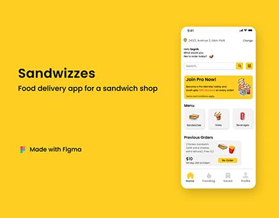 Sandwizzes - UX Case Study