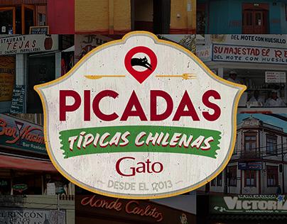 Picadas Típicas Chilenas - Vino Gato