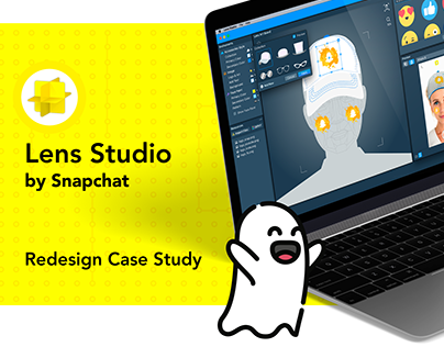 Lens Studio by Snapchat Redesign Case Study