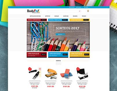 BodyPel | eCommerce Design and development