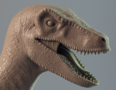 3D Raptor - animation