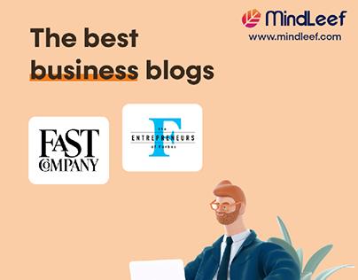 Business blog design