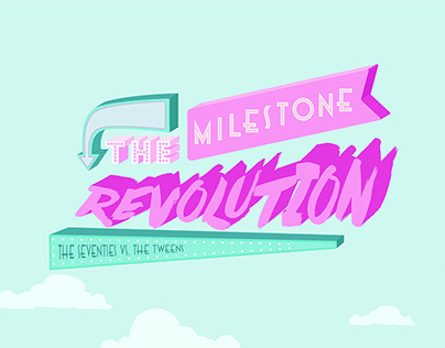 The Milestone Revolution – Infographic Illustration