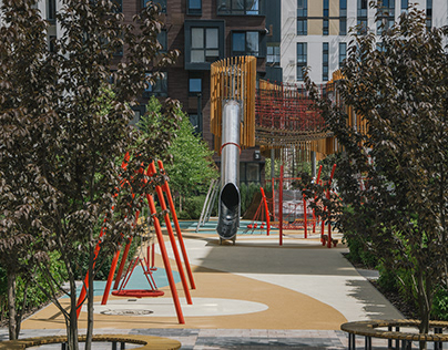 Playground at Fayna TownResidential Complex - 2
