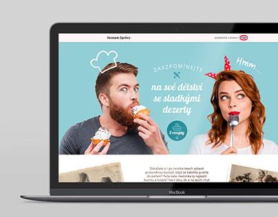 Website design and illustrations for Seznam Native