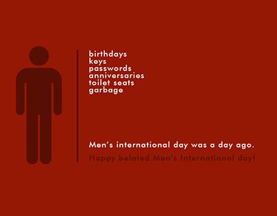 Men International Day