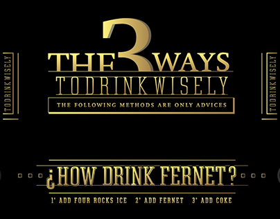¿How Drink Fernet?