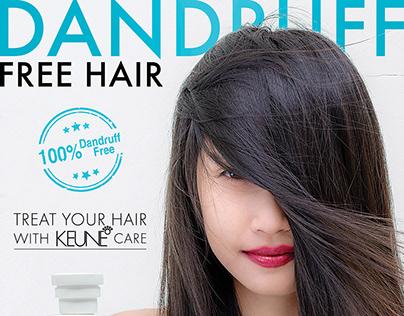 Keune Magazine ads