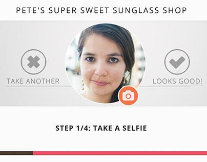 Sunglasses Shop | Touch Kiosk Design
