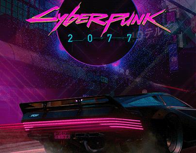 CyberPunk 2077 newsletter & poster