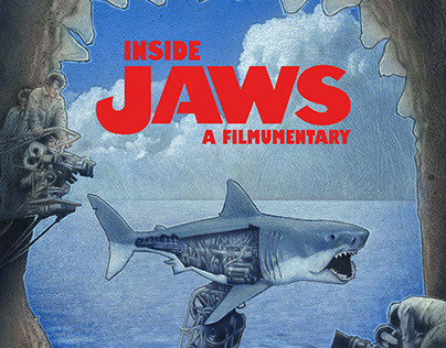 """Inside Jaws"" (2013) Poster illustration"