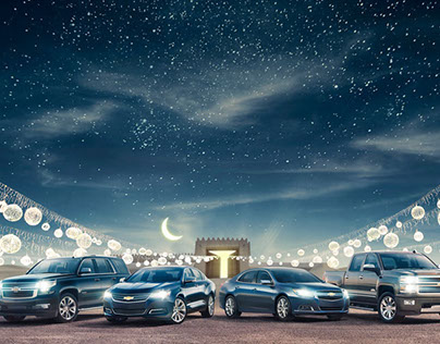 Chevrolet Kuwait Ramadan Greeting