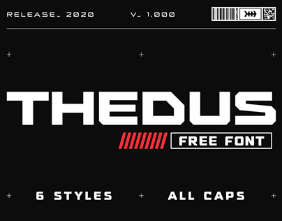 THEDUS — Free font