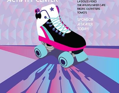 Skate A Thon Event Branding