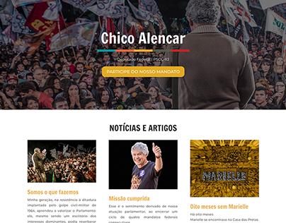 Site: Chico Alencar, Dep. Federal (PSOL/RJ)