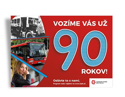 PRINT - 90 years of public transport in Bratislava