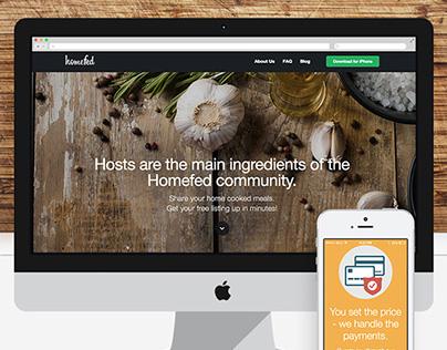 Homefed App Host Website