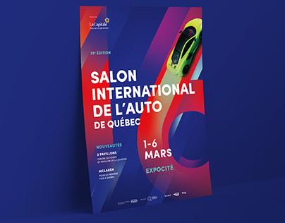 Salon International de l'auto de Québec - Campagne 2016