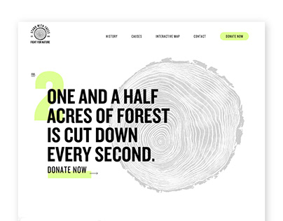 Deforesation Website