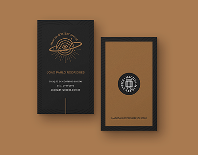 magical mystery office - visual identity