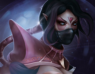 Templar Assassin - DOTA2 (2016)