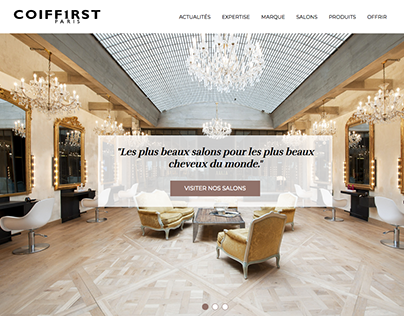 Coiffirst Website