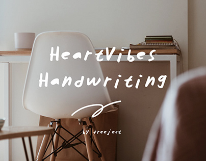 HeartVibes Handwriting Font - Free Download